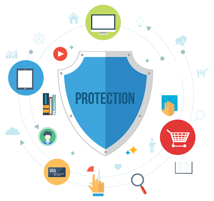 Security Shield Graphic
