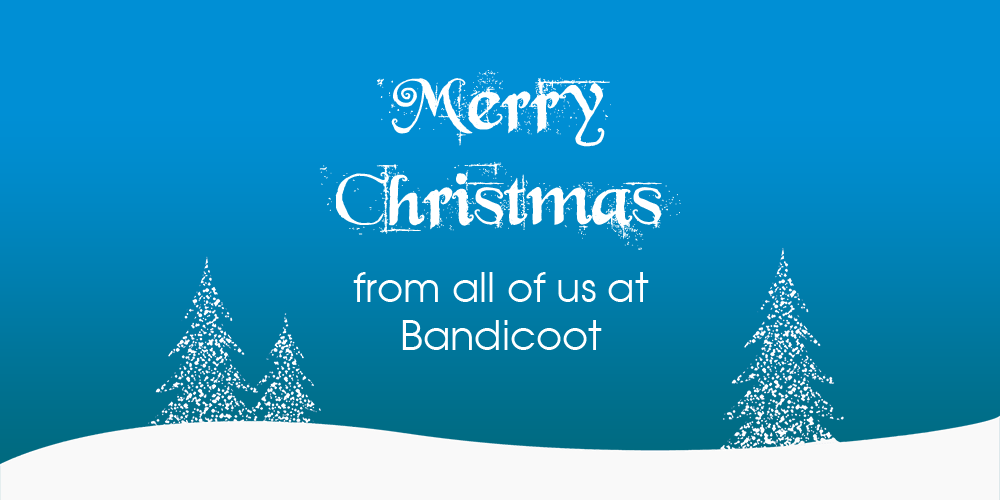 Merry Christmas from all of us at Bandicoot