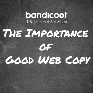 The Importance of Good Web Copy