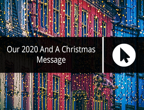 Our 2020 And A Christmas Message
